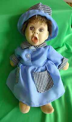 Nice Vintage Scandinavian Norway or Sweden Porcelain Doll Toy Collectibles toy