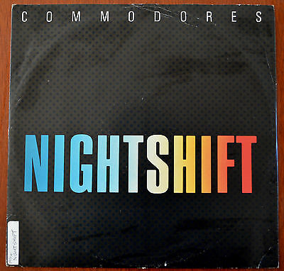 "Commodores – Nightshift 12"" – TMGT 1371 – VG+"