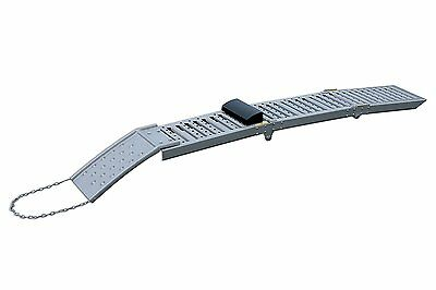 Clearance New! Folding Ramps 2 Piece Ramp Set Ideal For Motorbikes Atv Quads