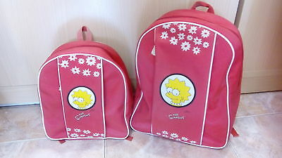 Lote 2 mochilas THE SIMPSONS