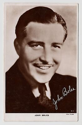 POSTCARD - John Boles, movie star, film cinema actor #9.A