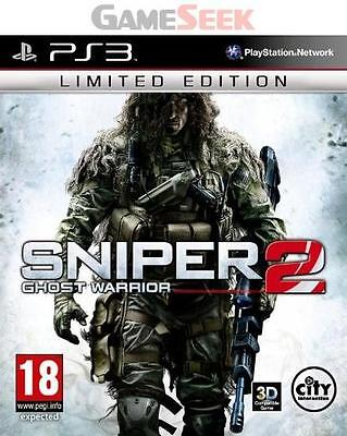 Sniper Ghost Warrior 2 - Limited Edition - Playstation Ps3 Brand New