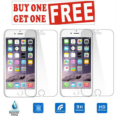 """NEW 100% Genuine Tempered Glass Film Screen Protector for Apple iPhone 6 6s 4.7"""""""