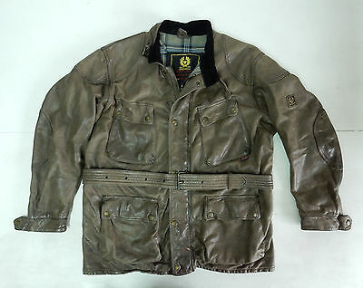 Belstaff Panther Vintage Jacket Giacca Pelle Leather