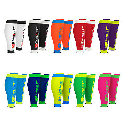 Calf Compression Sleeves COMPRESSPORT R2 v2 (Race & Recovery) All colors