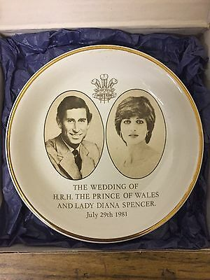 POOLE Coaster. Royal Wedding. Diana & The Prince of Wales. In Box.