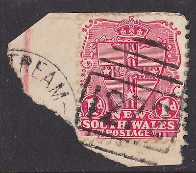 New South Wales Postmark : Numeral 1272 of Upper Coldstream (RRRR, closed 1963).