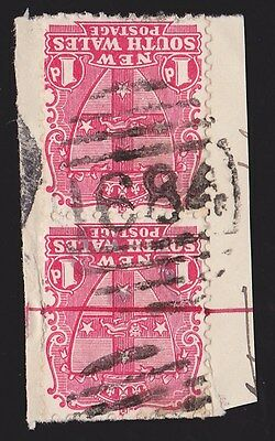 New South Wales : Postmark Numeral 1684 of Ramornie Works (RRRR) .