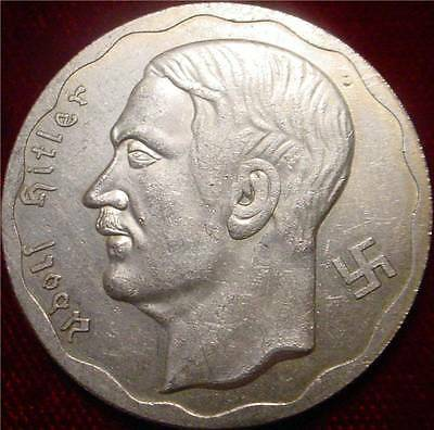 Large 1933 Adolf Hitler Commemorative Medal 1933 3Rd Reich Brandenburg Gate **