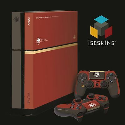 Isoskin® MGS Special Edition Red & Gold Playstation 4 (PS4) Skin Decal