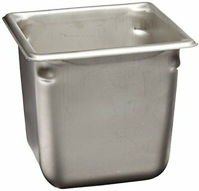 Vollrath (30662) 6 Deep Super Pan V Stainless Steel Sixth-Size Steam Table Pan
