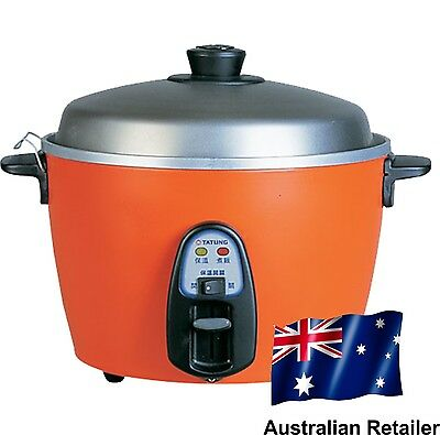 Tatung 6 Cups Multi-functional Rice Cooker Red - Australian Retailer!