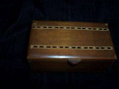 Vintage Lador Wooden Swiss Music Box 1944