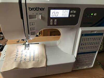 BROTHER FS130QC LCD COMPUTERISED SEWING MACHINE Rrp new £550+ , BARGAIN