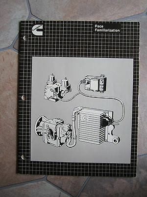 CUMMINS PACE Control System  Familiarization manual book genuine
