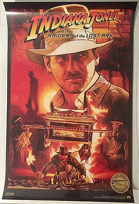 INDIANA JONES : RAIDERS OF THE LOST ARK - IMAX Exclusive Re-release poster ROTLA