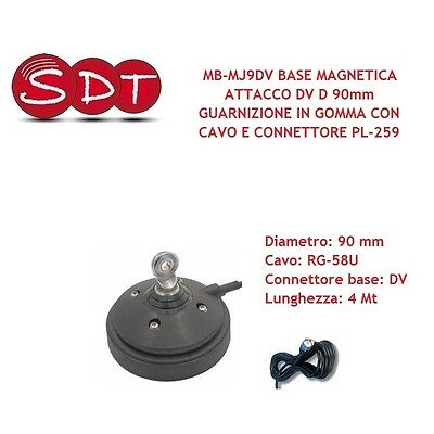 Mb-Mj9Dv Magnetic Base Connection Dv D 90 Millimetres Gasket Rubber With Cable