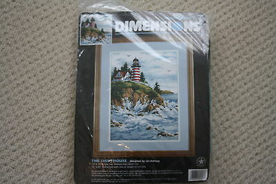 "Dimensions ""The Lighthouse""  Needlepoint/Tapestry Kit    NEW"