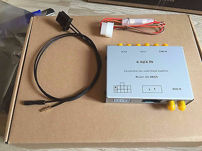 Optic fiber Most AUX-IN AUDIO interface for AUDI MMI 2G A6 A8 Q7
