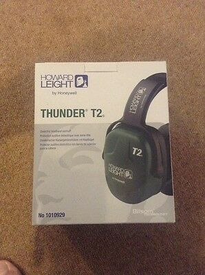 Howard Leight By Honeywell 1010929 Thunder T2 Dielectric Comfort H/B E/Defend