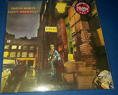 DAVID BOWIE  The Rise & Fall Of Ziggy Stardust (LP) gatefold red vinyl sealed