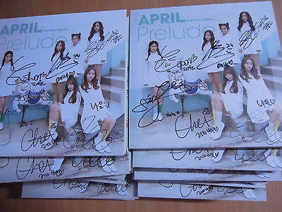 APRIL - Prelude (3rd Mini  Promo) with Autographed (Signed)