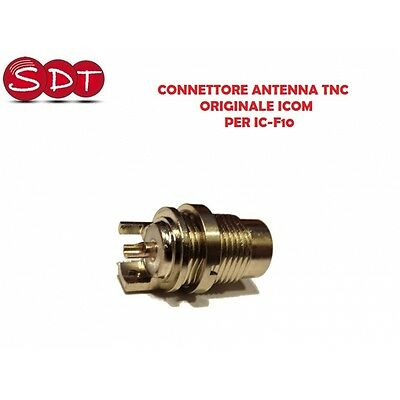 Connecteur Antenne Tnc Original Icom Per Ic-F10