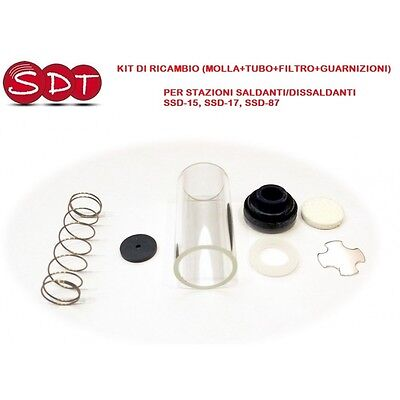 Kit Replacement (Spring+Tube+Filter+Seals) Per Stations Ssd-15/17/87 Zd-915