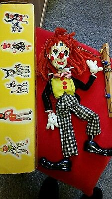 Pelham Puppet Clown from 1950's