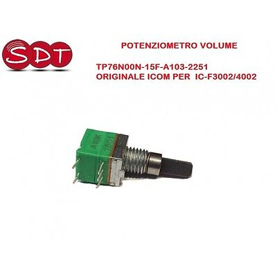 Potentiomètre Volume Tp76N00N-15F-A103-2251 Original Icom Per Ic-F3002/4002