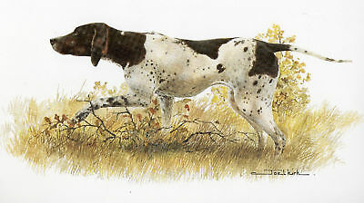 Pointer Open Edition Print by Joel Kirk