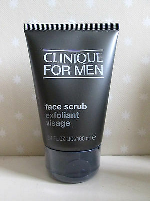 Clinique for Men Face Scrub 100ml , New & Sealed