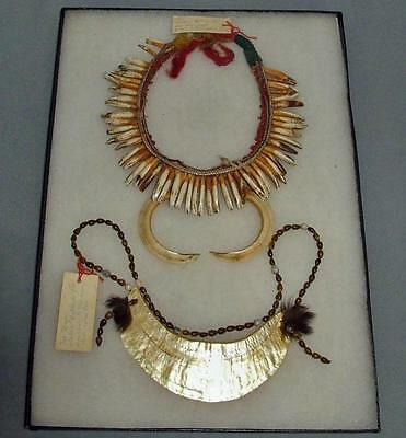 A Set Of  2 Oceanic Tribal Necklaces Papua New Guinea