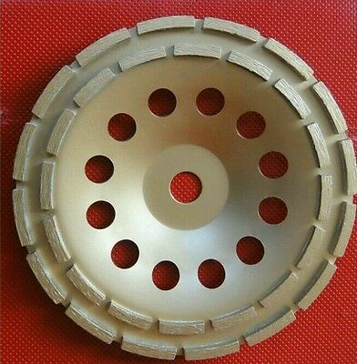 230mm PRO Diamond Cup Grinding Disc. Angle Grinder Blade. Concrete. Granite. 9""