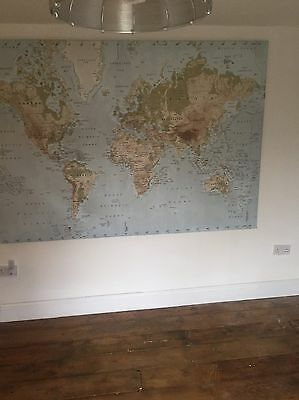 Large Map Of The World Picture