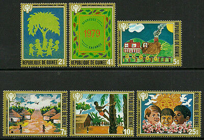 Guinea #789-94 Mint Never Hinged Complete Set - Year of the Child