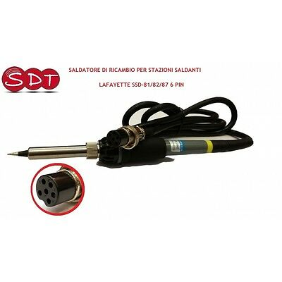 Spare Soldering Iron Per Stations Solders Lafayette Ssd-81/82/87 6 Pin