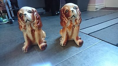 Pair of Cocker Spaniel Ornaments