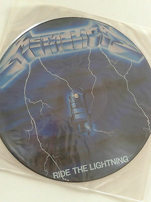 Metallica - Picture Disc - Ride The Lightning