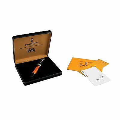 DELTA DOLCEVITA Mid-Size Rollerball Pen New in Presentation Box RRP £230