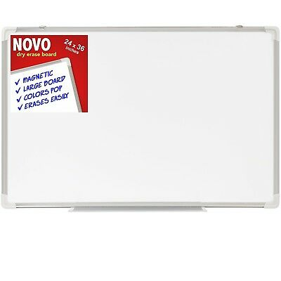 Dry Erase Board 36x48 | EXTRA LARGE Magnetic Whiteboard with Aluminum Fra... New
