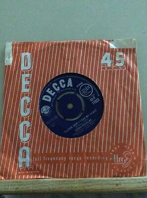 "Decca 7"" Single Vinyl Record Craig Douglas"