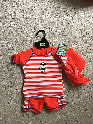 New With Tags Boy 6-9 Swimsuit