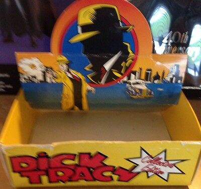 VINTAGE DICK Tracy Disney Watch Store Display Box Rare Nice Colors