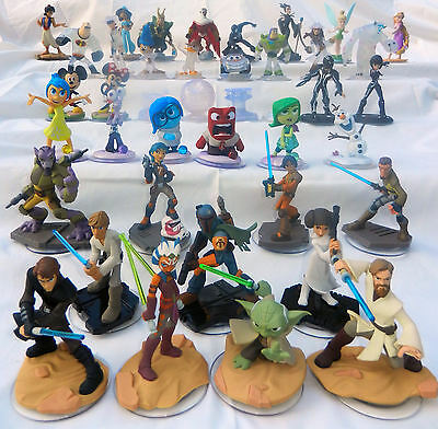 Disney Infinity Figures CHOICE OF 3.0 Star Wars, Inside Out, Originals. &2.0 1.0