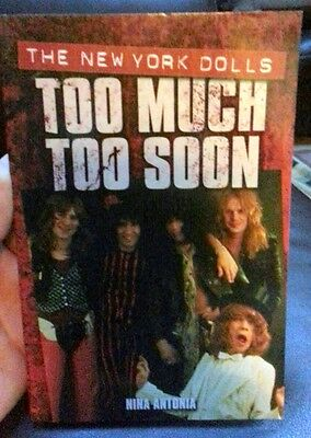 Too Much Too Soon The Makeup Breakup of The New York Dolls Softcover 1844499847