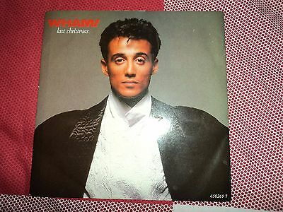 "WHAM GEORGE MICHAEL Last Christmas 7"" Single Re-Issue Where Did Your Heart Go?"