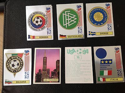 Panini Usa 94 World Cup Stickers Green  Backs 3 For £1.25