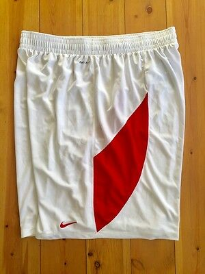 Nike Mens Mid-Air Dri Fit Basketball Shorts Red White New 330904-103 4XLT