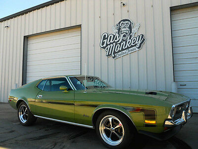 1972 Ford Mustang Fastback 302 V8 automatic Resto-Mod Done by Gas Monkey garage